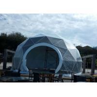 UV Resistant Large Commercial Tent , Transparent Dome Tent 12m Diameter