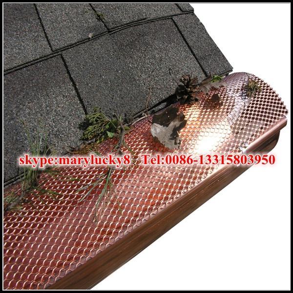 expanded metal gutter guard mesh/aluminum mesh gutter guards