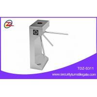 Pedestrian factory price tripod turnstile with fingerprint access control
