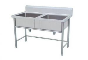 Amazing Kitchen Double Bowl Industrial Stainless Steel Sinks For Restaurant  Hotel With Restaurant Kitchen Sinks Stainless Steel