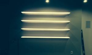 Aluminium LED Shelf Lighting 600mm x 200mm x 8mm For Display for