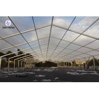 Aluminum Frame Outdoor Warehouse Tents , Warehouse Storage Tent With High Capacity