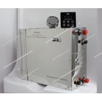 Mirror-polished stainless steel Commercial Steam Generator 4kw 230v for steam bath