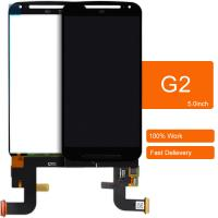 Motorola Moto G2 LCD Display Touch screen with digitizer Assembly Black color
