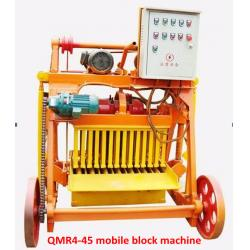 China Low cost Small mobile QMR4-25 egg laying block making machine on sale