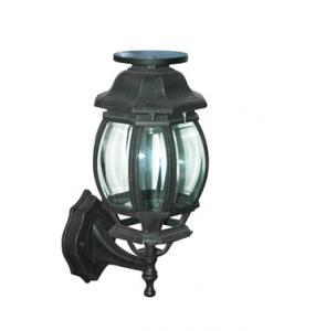 LED / LVD 12v 9w power aluminum solar powered outdoor wall mounted lighting  lamp