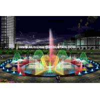Outdoor Rock Water Fountains Wall Mounted Water Fountains RGB Stainless Steel Cable