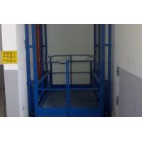 3 - 5.5 Kw guide rail hydraulic cargo lift 2.2*1.9*1.52 m CE / ISO