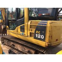 Used Komatsu PC120 Crawler Excavator S4D105-5 engine 11T weight  with Original Paint