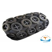 Marine Floating Pneumatic Rubber Fender With Galvanized Chain And Tyre