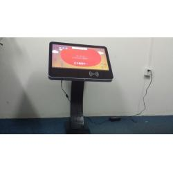China Kindergargen 21.5 Android LCD Digital Signage With Camera And Card Reader on sale