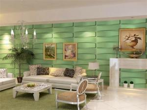 Embossed Decorative 3D Wall Panel / 3D Living Room Wallpaper for ...