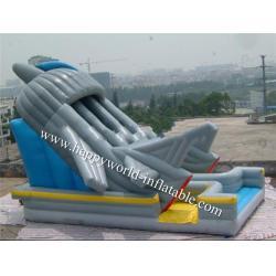 China inflatable titanic slide for sale , robert inflatable slide on sale