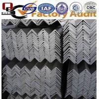 MS steel angle of JIS/ASTM/GB/EN standard material grade