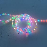 Synchronous RGB color changing high quality Christmas 50M roll decorating LED rope light CE ROHS with 4 function effect