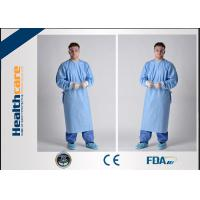 Breathable Sterile Disposable Hospital Gowns4 Ties Adjustable Neck Free Sample