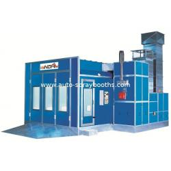 China Portable Auto Spray Booth Heat-Insulation , Auto Painting Room WD-60 on sale