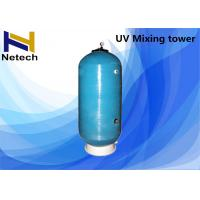 UV Mixing tower Ozone Generator Water Purification For Swimming Pool / UV O3 Disinfection system
