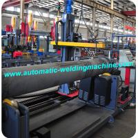 Long Pipe Flange Automatic Welding Machine PLC Control CE ISO