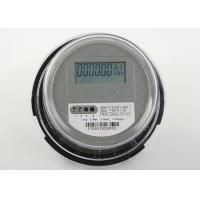 Hot Type Electronic Plug Energy Meter / Round Single Phase Watt Hour Meter
