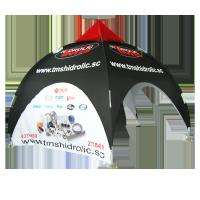 Advertising Custom Printed Canopy Tents , Beach Pop Up Tents For Sporting Events