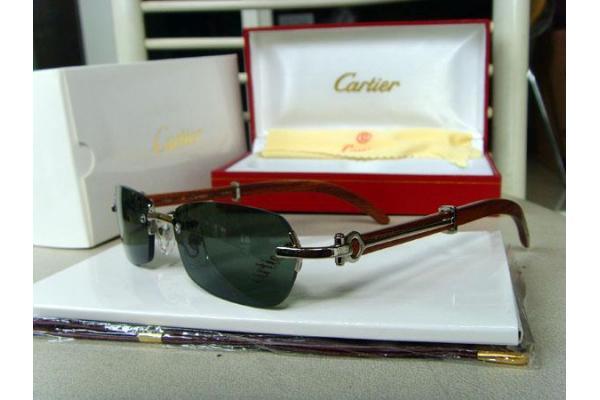 cartier sunglasses santos  cartier 2902519 18k gold