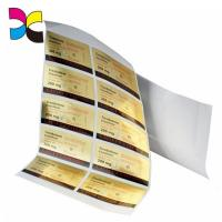 Custom Printed Product Personalized Gel Adhesive Sticker Label
