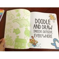 Attractive Boys Colouring Book Printing For Kindergarten Reading Softcover