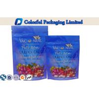 Nuts Packaging Resealable Stand up Pouches , zipper stand up food pouches