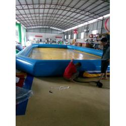 China Customized 0.9 Mm PVC Tarpaulin Inflatable Family Pool For Baby on sale