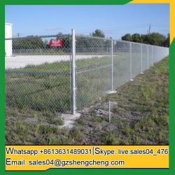 China Craiglie Hot galvanized used chain link fence panels for sale on sale