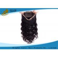 Customized Body Wave 360 Full Lace Wigs , Straight 100% Virgin Brazilian Hair