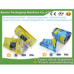 China Ice cream packaging film rolls,plastic bags for popsicle,Food packaging plastic roll film with bestar packaging on sale