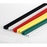 Aluminum Profile Accessory Aluminium Slot 8 Black Pvc Seal Strip Sliding Rubber Cover