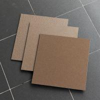 30X30 Cm Salt And Pepper Porcelain Tiles Non Slip Coffee / Chocolate Color