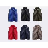 Polyester/ Cotton Work Jackets & Vests For Men Zipper With Twill / Women's Jackets