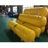 Pillow type load testing water bag for free fall life boat