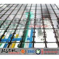 Straight Razor Wire Mesh Fence Panel