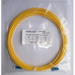 China Optical Fiber patch cord, LC-LC SM fiber Patch cord Duplex 3Meter on sale