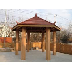 China WPC Construction Pergola , Waterproof And Weather-resistant WPC Material on sale