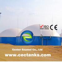 Glass-Fused-to-Steel Tank With High Airtightness Is The Best Option For Biogas Storage Tank