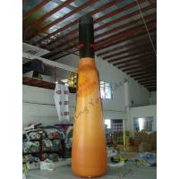 UV Protective PVC Tarpaulin Inflatable Bottle For Indoor Activities With Silk - Screen Printing