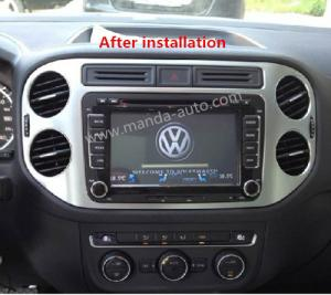 2 din car dvd radio player for vw volkswagen tuguan polo. Black Bedroom Furniture Sets. Home Design Ideas