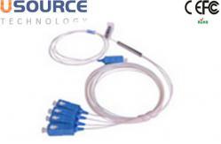 China Divisor desnudo GPON 1260 del plc de la fibra óptica 1*4 a 1650nm fibra 1 en 4 hacia fuera divisor de la red de 4 maneras proveedor