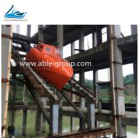 2018 MED  Certificate FRP Solas Totally Enclosed  lifeboat and lifeboats crane