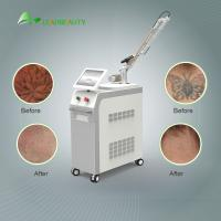 1064 / 532nm 1200W  Nd Yag laser tatoo removal machine / pigmentation removal 6ns Pulse Width