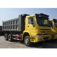Sinotruk HOWO 6x4 Dump Truck Trailer 18M3 Square Shape / U Shape Tipper Body