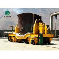 5-25 Ton Large Capacity Anti-Heat Hot Metal Ladle Cart for Steel Making Plant