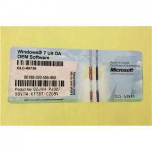 windows 7 with oem product key