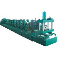 High Speed 0-25m/min 500mm Coil Width W Beam Guardrail Roll Forming Machine 10mpa Hydraulic Pressure